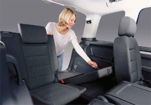 retrofit   row  seats  touran  flexibility    seater