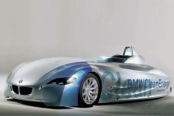 BMW Hydrogen Powered Car Breaks Speed Records