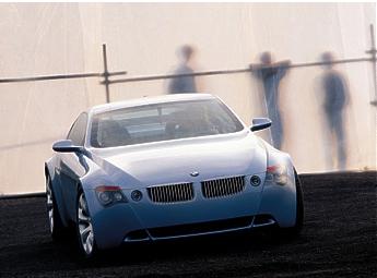 BMW Z9 Gran Tourismo Concept Car presented