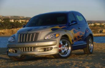 Custom Chrysler Pt Cruiser Embodies Hot Rod Era In Modern