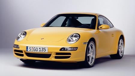 Porsche 911 d'Alice Porsche-911-carrera-front-yellow-450-254
